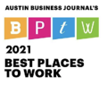 Austin Business Journal's Best Places To Work 2021