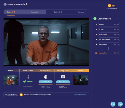 Living Security is excited to announce the launch of Cyber Escape, a new digital security awareness training platform that reduces the risk of high-impact cyber threats by encouraging experiential learning and gamification which is proven to increase retention and engagement.