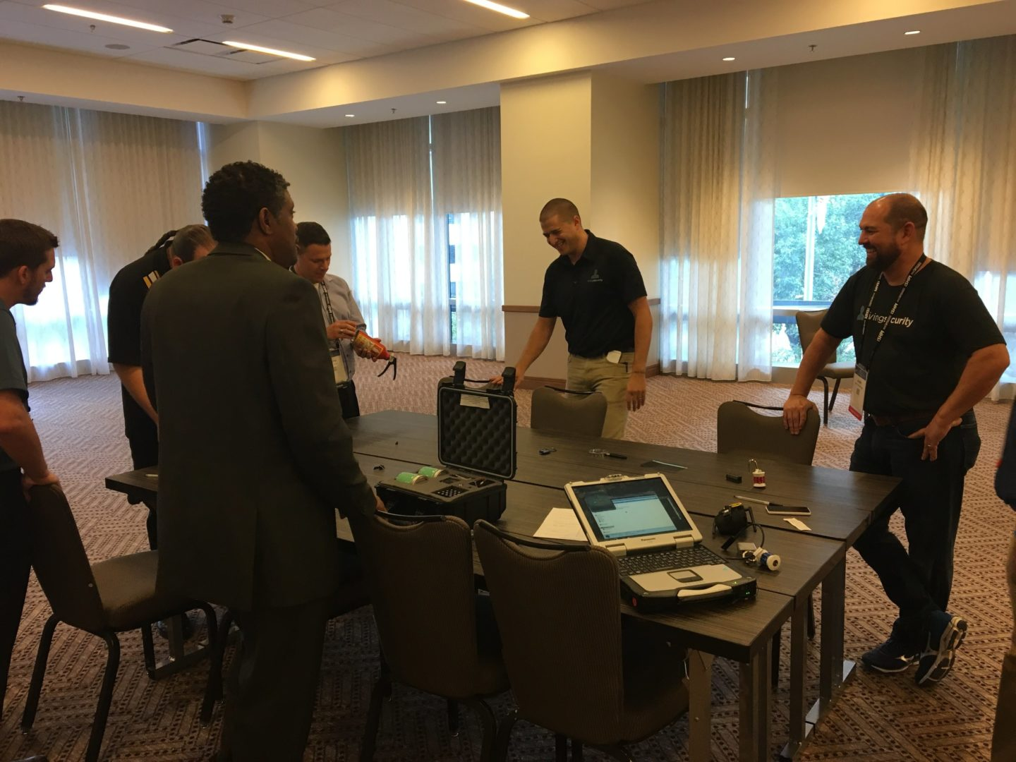 Living Security hosts The Security Escape Room at the (ISC)² Security Congress_9