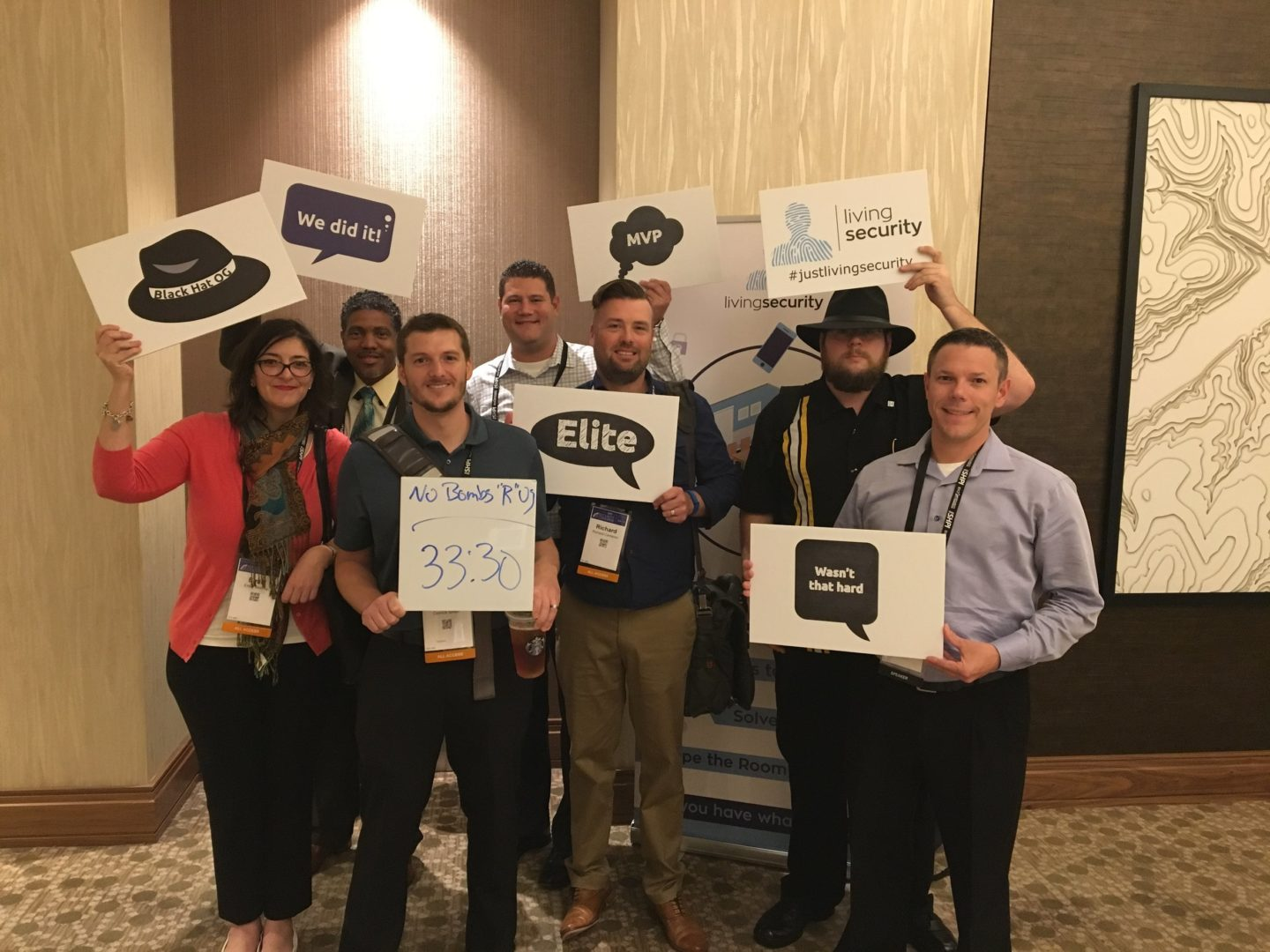 Living Security hosts The Security Escape Room at the (ISC)² Security Congress_8