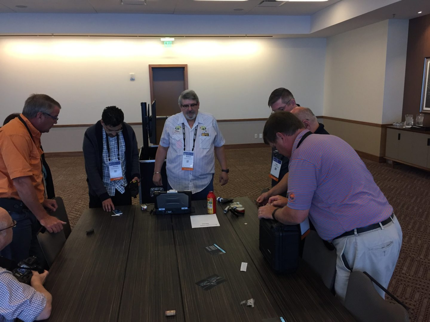 Living Security hosts The Security Escape Room at the (ISC)² Security Congress_7