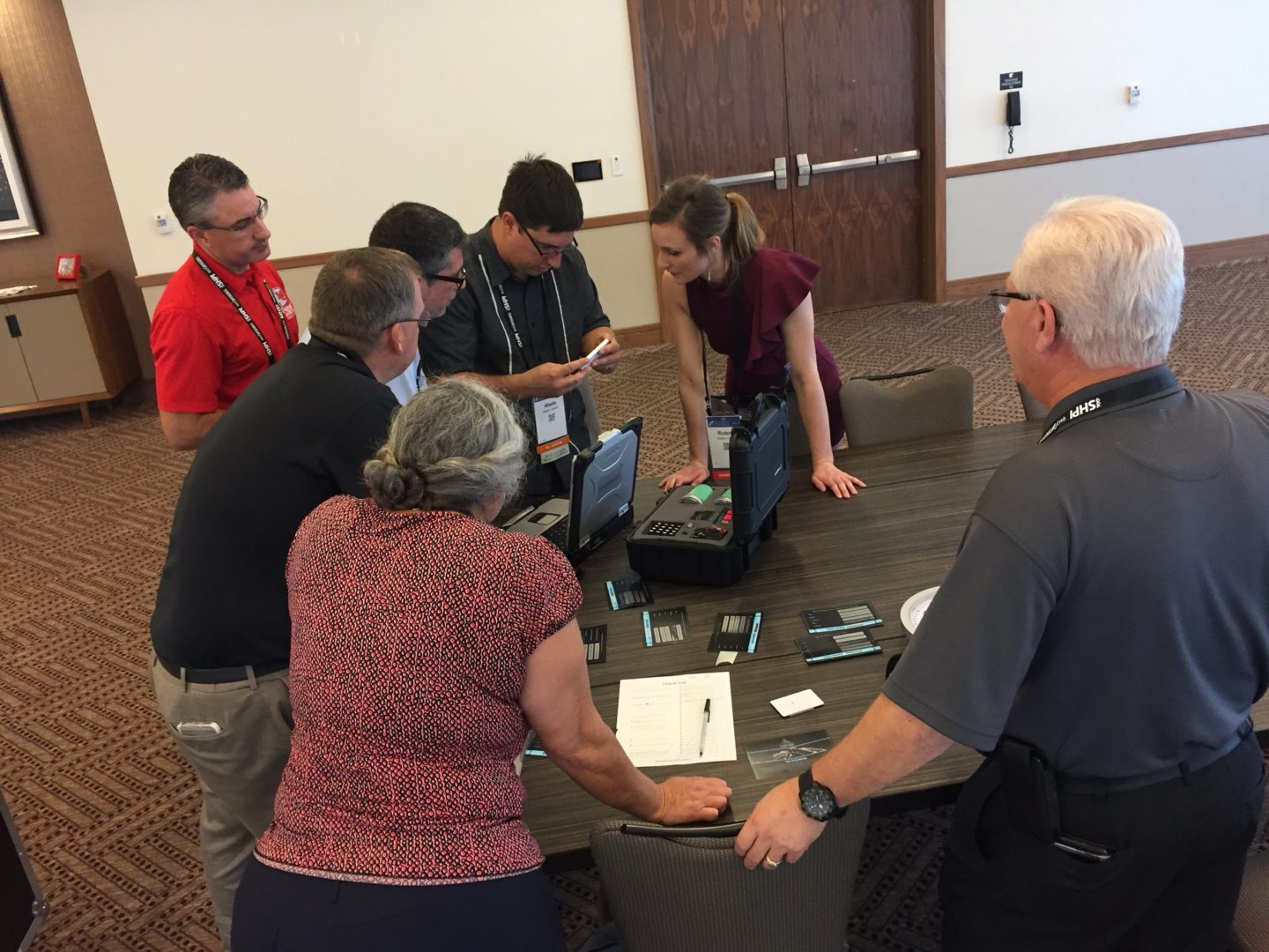 Living Security hosts The Security Escape Room at the (ISC)² Security Congress_5