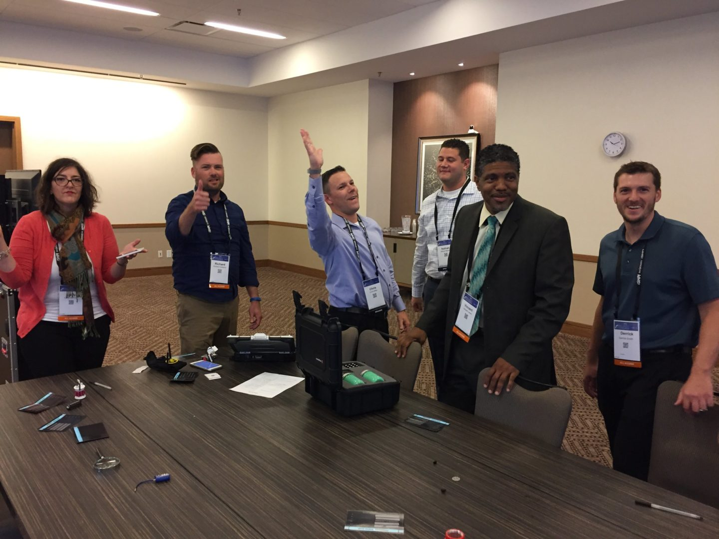 Living Security hosts The Security Escape Room at the (ISC)² Security Congress_3