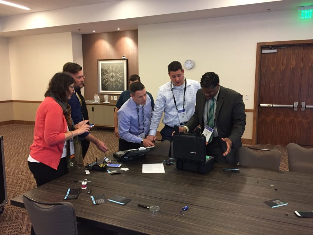 Living Security hosts The Security Escape Room at the (ISC)² Security Congress_2